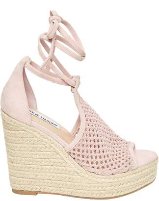 Steve Madden Sure Ankle-Tie Wedge Sandals