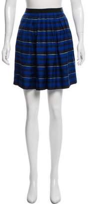 Miss Wu Silk Knee-Length Skirt