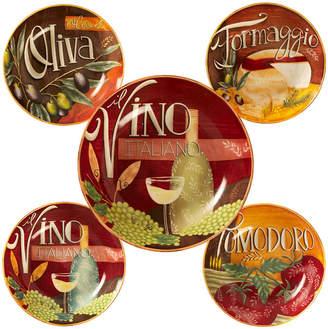 Certified International Bella Vita 5-Pc. Pasta Sets