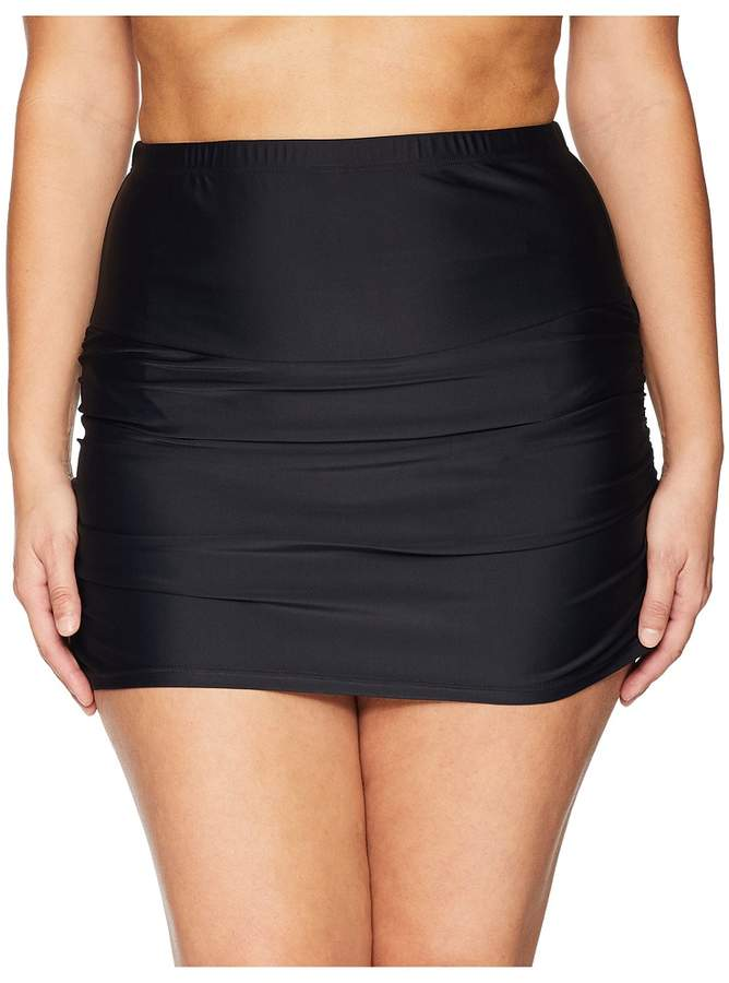 Plus Size Calliope High-Waist Swim Skirt Women's Swimwear