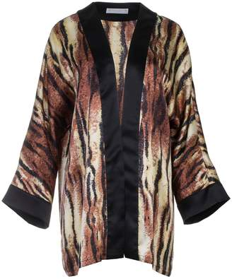 Roses Are Red - Silk Cardigan In Animal Print