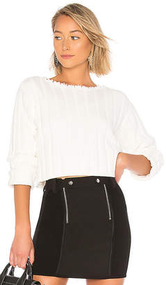 Alexander Wang Off Shoulder Pullover