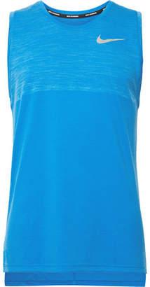 Nike Running Medalist Mélange Dri-Fit Tank Top