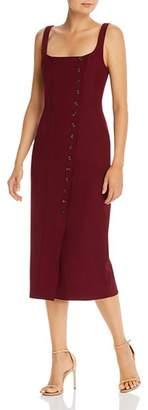 Fame & Partners Corbin Button Sheath Dress - 100% Exclusive