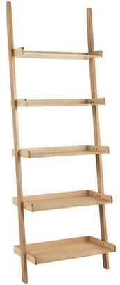 Habitat Jessie Oak Veneer Wide Leaning Ladder Storage Unit
