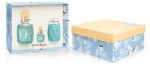 Miu MiuMiu Miu Miu Miu L'eau Bleue Gift Set
