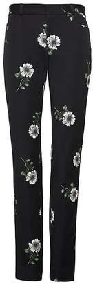 Banana Republic Petite Sloan Skinny-Fit Floral Ankle Pant