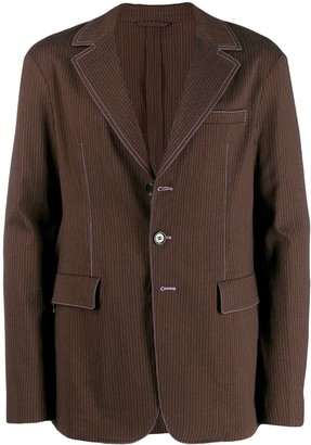 Acne Studios slim fit unconstructed jacket