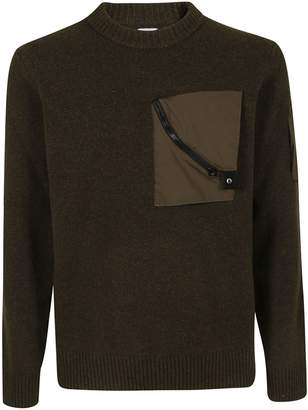 C.P. Company Front Pocket Zipped Sweater