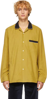Cobra S.C. Yellow and Black Corduroy Cabriolet Shirt