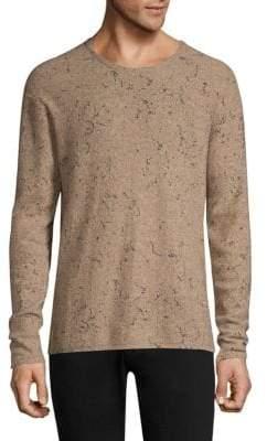 John Varvatos Oversize Wool& Cashmere Crewneck Sweater