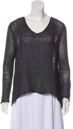 Helmut Lang Open Knit Lightweight Sweater