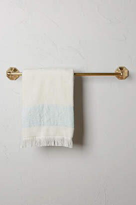 Anthropologie Brass Circlet Towel Bar