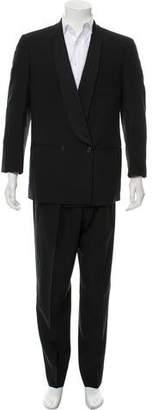 Giorgio Armani Double-Breasted Shawl Collar Tuxedo