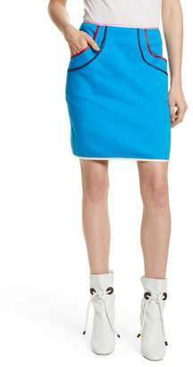 Harvey Faircloth Tiered Pocket Skirt With Multi