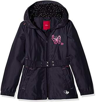 S'Oliver Girl's 58.803.51.2465 Jacket, (Dark Blue 5834)