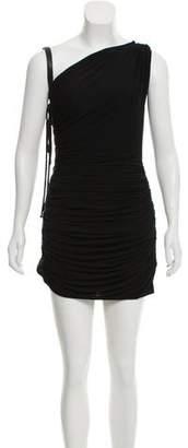 Ungaro Gathered One-Shoulder Dress