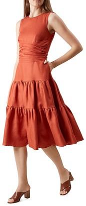 HOBBS LONDON Seville Dress $295 thestylecure.com