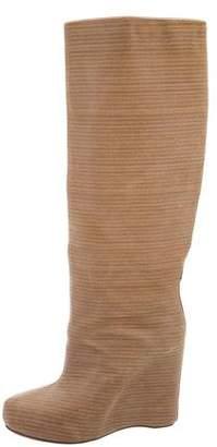 Maison Margiela Stacked Wedge Boots