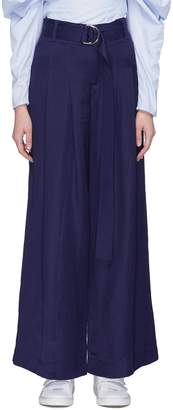 Your Own Maggie Marilyn 'Go Way' belted wide leg pants
