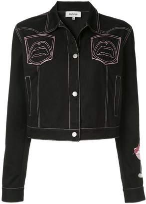 Yazbukey Pink Lady gabardine jacket