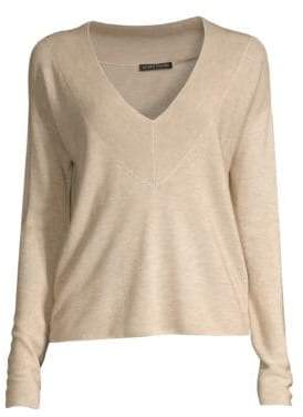 Eileen Fisher V-Neck Pullover Sweater