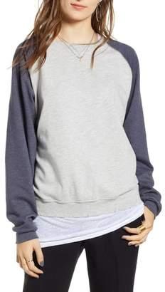 Treasure & Bond Raglan Sweatshirt