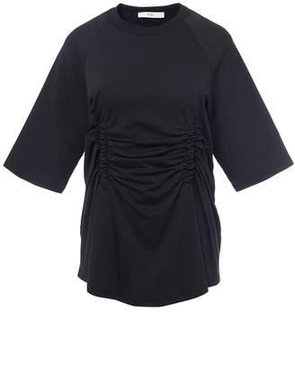 Tibi Corset Waisted Boyfriend T-Shirt