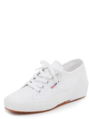 Superga Cotu Wedge Sneakers $85 thestylecure.com