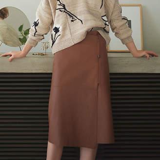Epoca (エポカ) - エポカ シープレザー スカート
