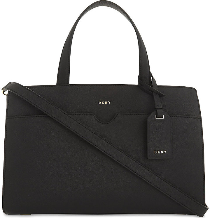 Dkny Bryant Park East/West leather tote