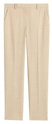 Theory Women's Tailored Stretch Wool Trousers - Size 0
