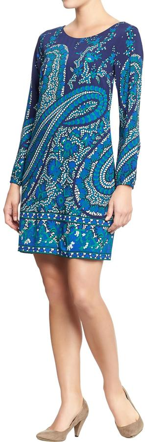 Old Navy Women's Printed Shift Dresses