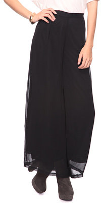 Forever 21 High Rise Sheer Pants