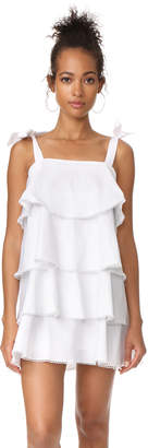 WAYF Madelyn Tiered Mini Dress