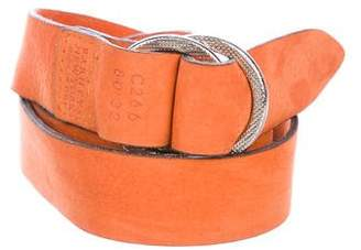 Barneys New York Barney's New York Nubuck Waist Belt