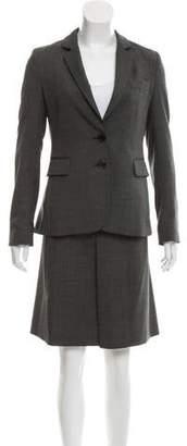Joseph Tailored Wool Skirt Suit