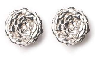 LeiVanKash Rose Stud Earrings