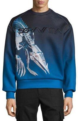 Juun J Sorayama Hajime Robot Dinosaur Sweatshirt $595 thestylecure.com