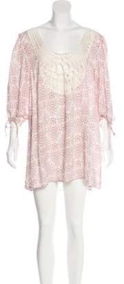 Eberjey Embroidered Mini Dress w/ Tags