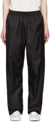 Faith Connexion SSENSE Exclusive Black K-Way Edition Baggy Lounge Pants