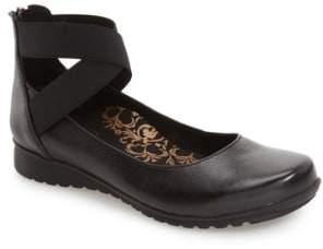 Aetrex 'Dakota' Ankle Strap Ballet Flat