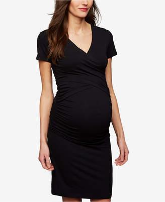 Ripe Maternity V-Neck Nursing Dress