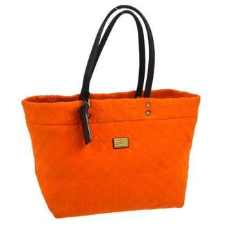 Louis Vuitton Orange Suede Handbag