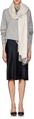 Barneys New York Women's Arran Cashmere Flannel Scarf