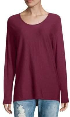 Max Mara Stripe Scoopneck Sweater