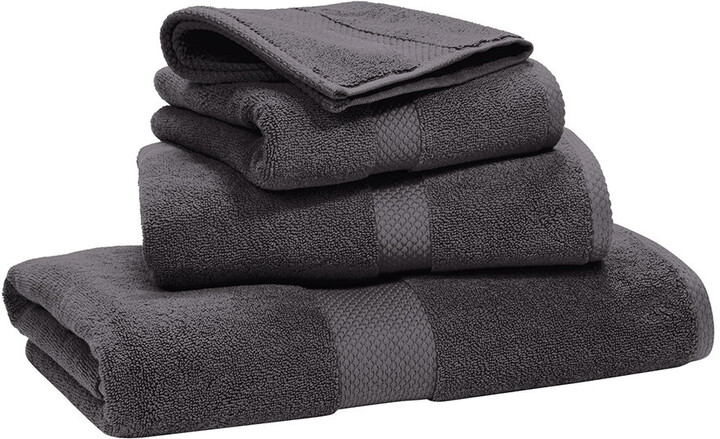 Avenue Towel - Graphite - Bath Towel
