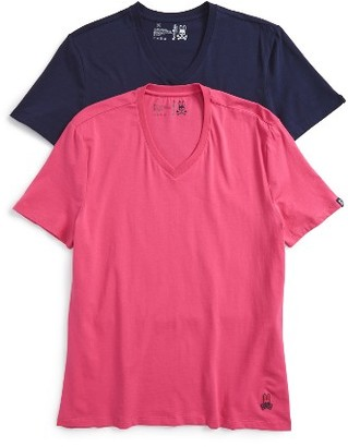 Men's Psycho Bunny Cool Colors 2-Pack Undershirt $39.50 thestylecure.com