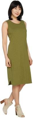 C. Wonder Essentials Slub Knit Sleeveless Midi Dress