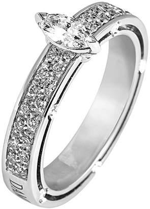 Damiani 18K 0.73 Ct. Tw. Diamond Ring